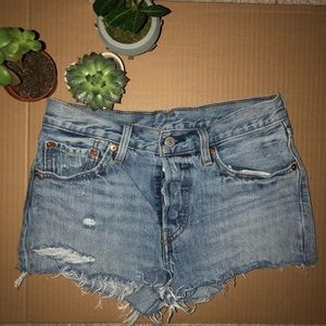 Levi's Original High-Waisted Shorts
